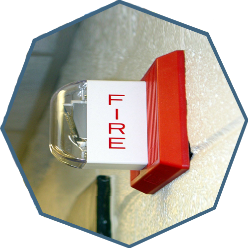 Fire Alarm Security System ( Fire Alarm Detection & Suppression )